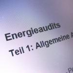Energieaudits
